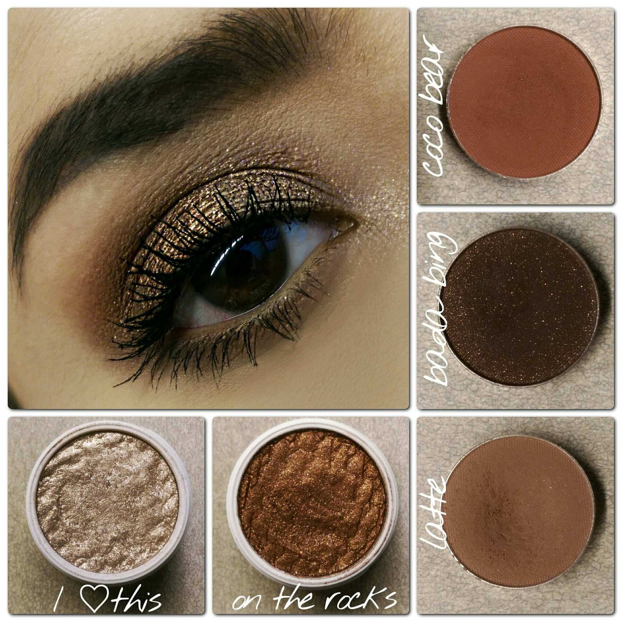 MakeupGeek Cosmetics ColourPop Cosmetics cruelty free makeup warm brown smokey eyes MOTD