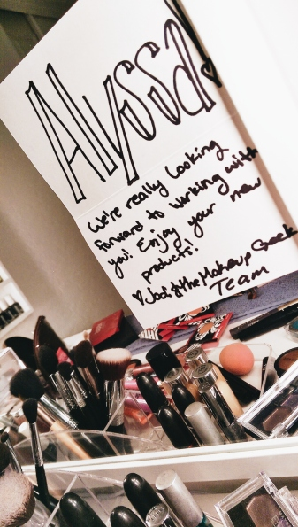 makeup vanity makeupgeek cosmetics marketing team sigma brushes ikea mirror