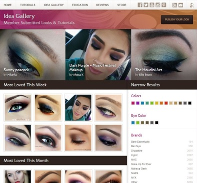 MakeupGeek Idea Gallery