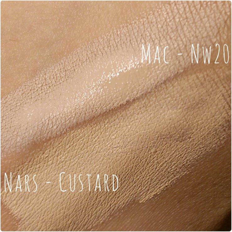 MOTD bblogger Mac Pro Longwear Conceaer Nars Radiant Creamy Concealer makeup beauty