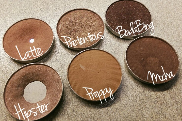 MakeupGeek Cosmetics Makeup Geek cruelty free neutral makeup bblogger Glitter Injections MOTD