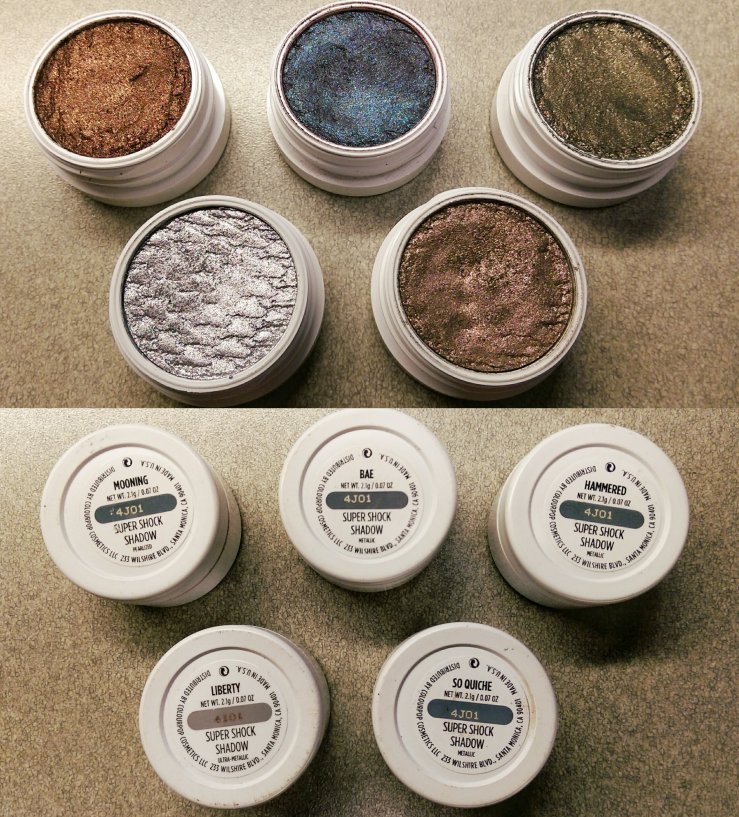ColourPop Cosmetics Super Shock Shadows makeup bblogger cruelty-free makeup affordable makeup