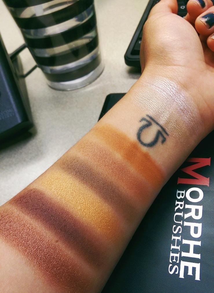 Jaclyn Hill Favorites Palette Morphe Cosmetics Morphe Brushes Limited Edition MOTD bblogger