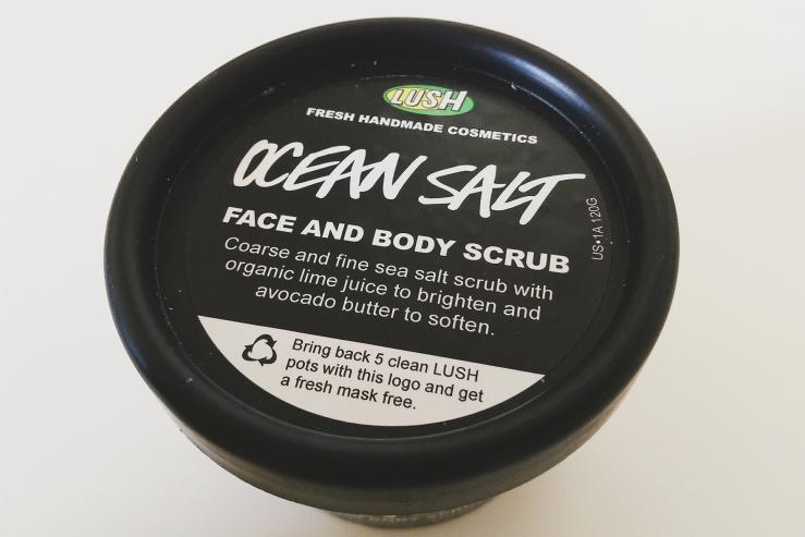 Lush Cosmetics Ocean Salt Scrub cruelty-free handmade cosmetics bblogger