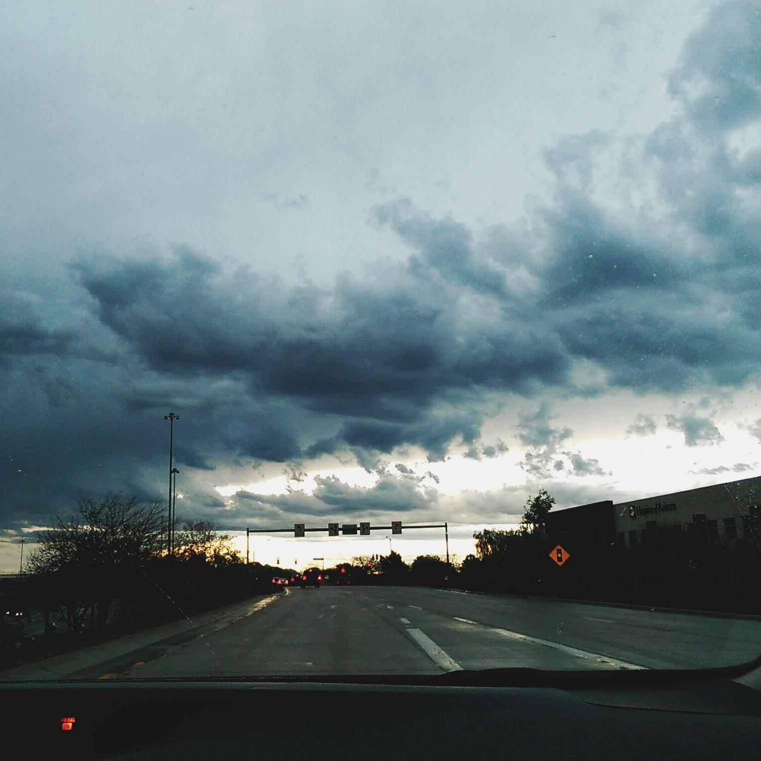 Phoenix sky sunrise monsoon season Arizona Phoenix AZ clouds May 2015 weather