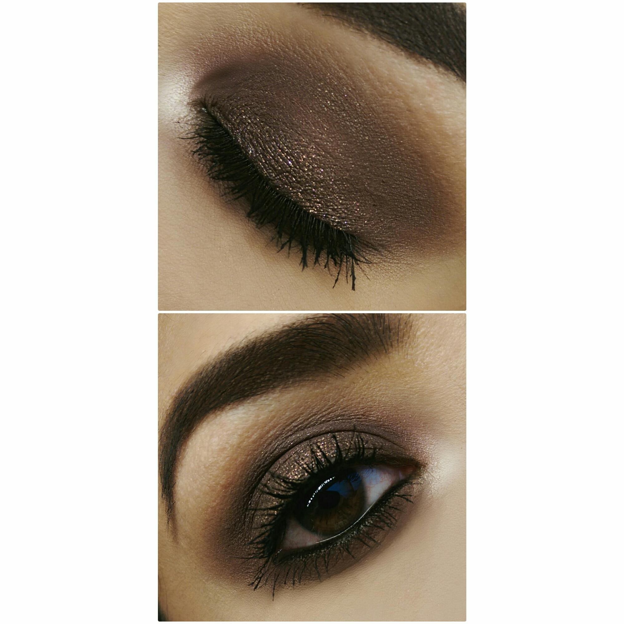 MOTD MakeupGeek Cosmetics Mac Cosmetics ColourPop Cosmetics Brown Smokey Eye Anastasia Brows