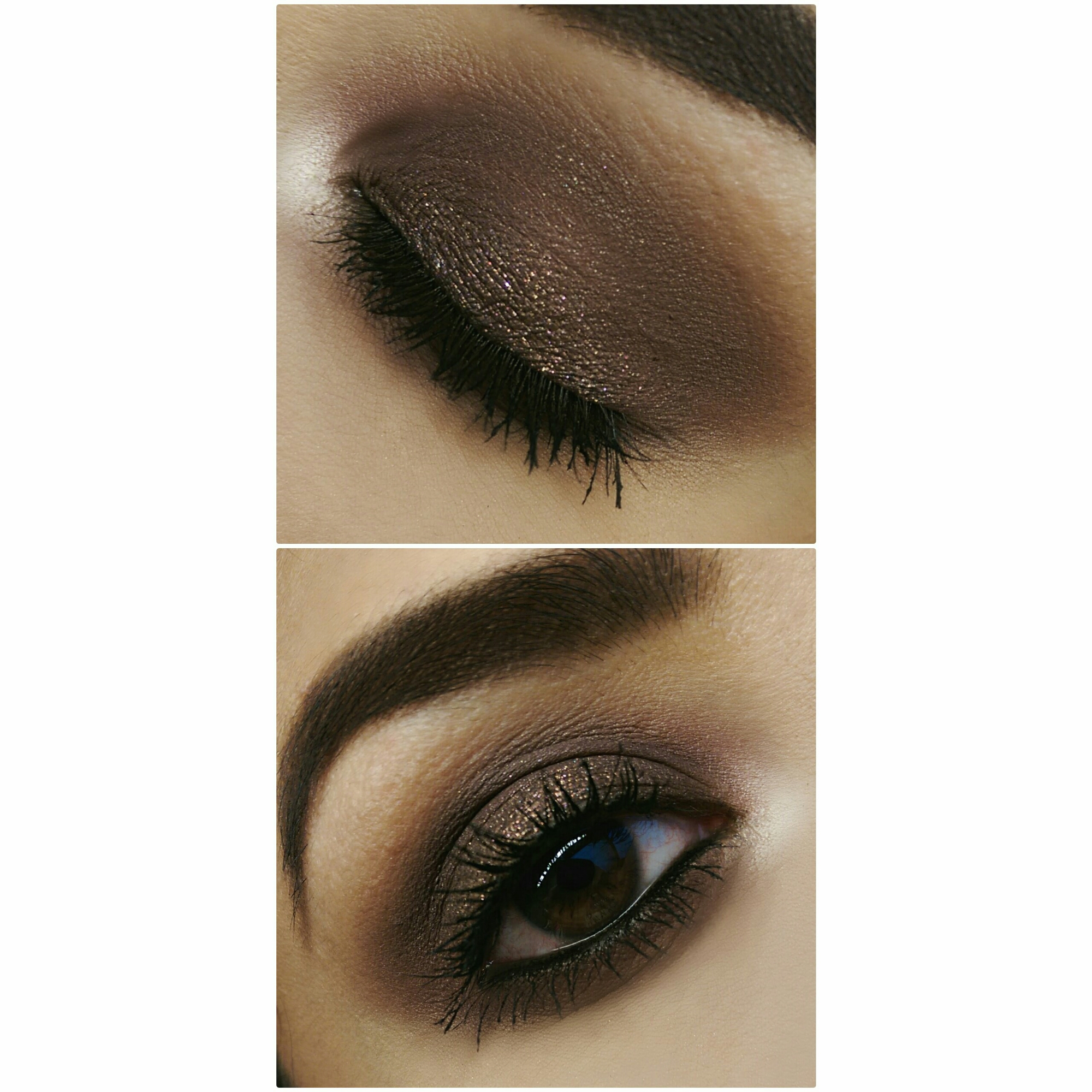 MOTD MakeupGeek Cosmetics Mac Cosmetics ColourPop Cosmetics Brown Smokey Eye Anastasia Brows