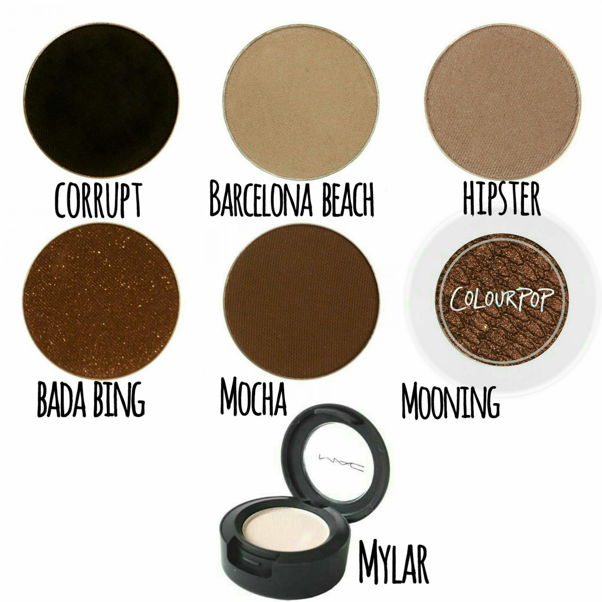 MakeupGeek Cosmetics Smokey Eye MakeupGeek Makeup Geek Mac Cosmetics Mylar ColourPop Cosmetics