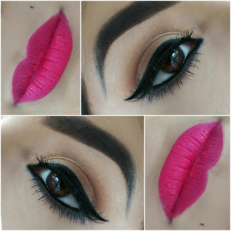 MakeupGeek Bleached Blonde Corrupt Colourpop Ultra Matte Liquid Lipstick Mars MOTD Maybelline Master Precise Liner Pen