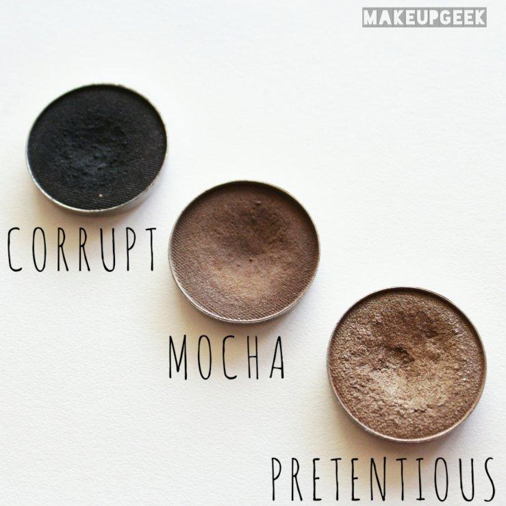 Makeup MakeupGeek Cosmetics MakeupGeek Corrupt MakeupGeek Pretentious MakeupGeek Mocha Bronze Shadows Fall Makeup bblogger Cruelty-Free Makeup