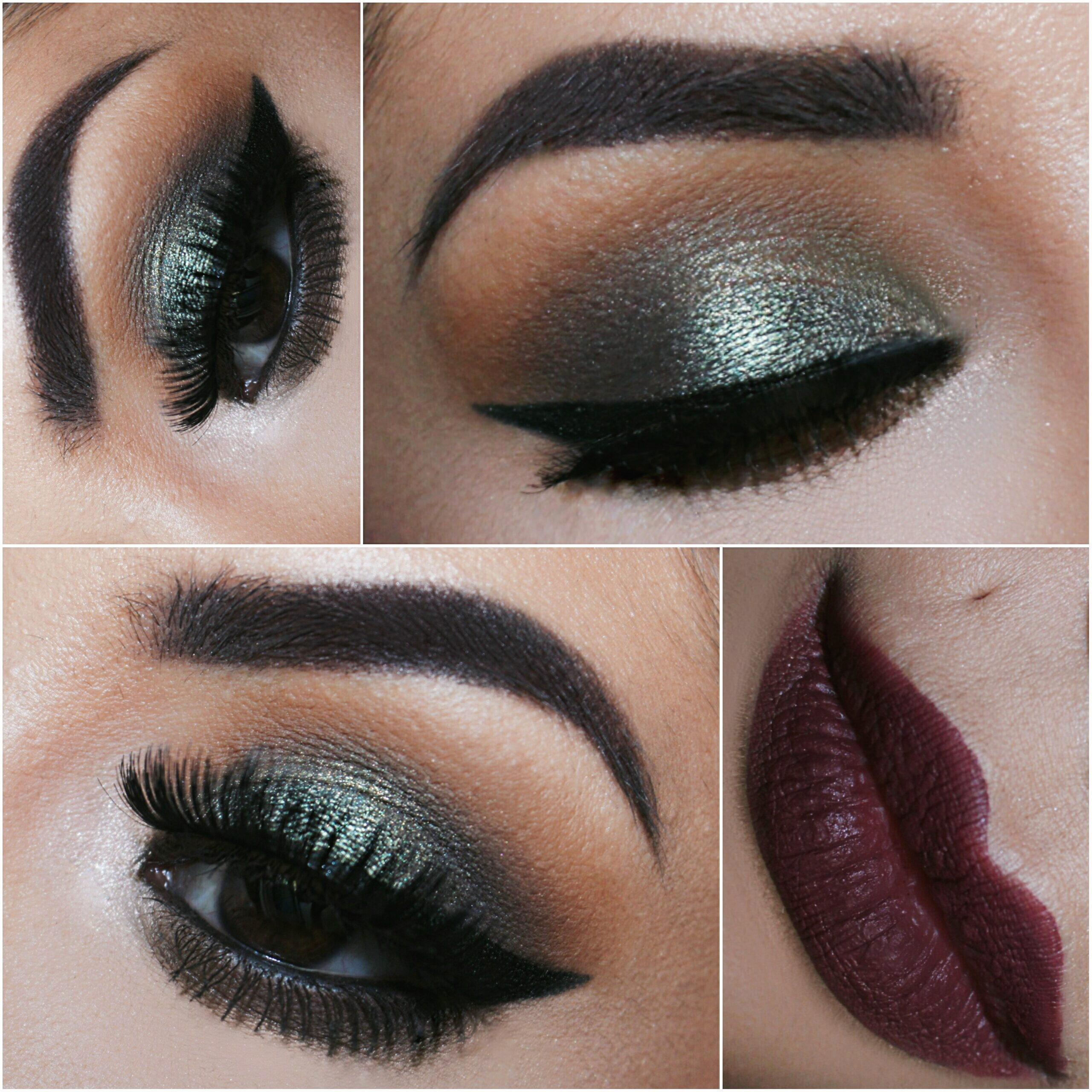 Dramatic Fall Makeup Makeupgeek Duochrome Shadows O H A L Y S S A K