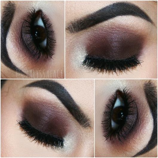 ... Free Makeup ColourPop Fairfax Glitterati Winter Makeup Matte Brown