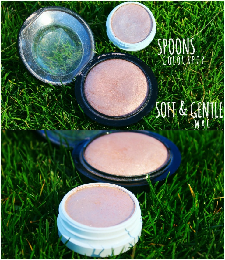 Mac Cosmetics Mac Soft & Gentle Mineralize Skin Finish Highlighters Best Highlighters ColourPop Spoon
