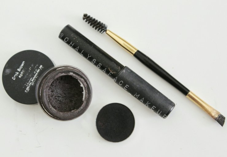 Brows Eyebrows Before and After How-To Brow Tutorial Brow Pictorial Anastasia Brows ABH Brow Fix Makeup Geek Corrupt Shadow Ardell Brow Gel Makeup BBLOGGER Snatched Brows