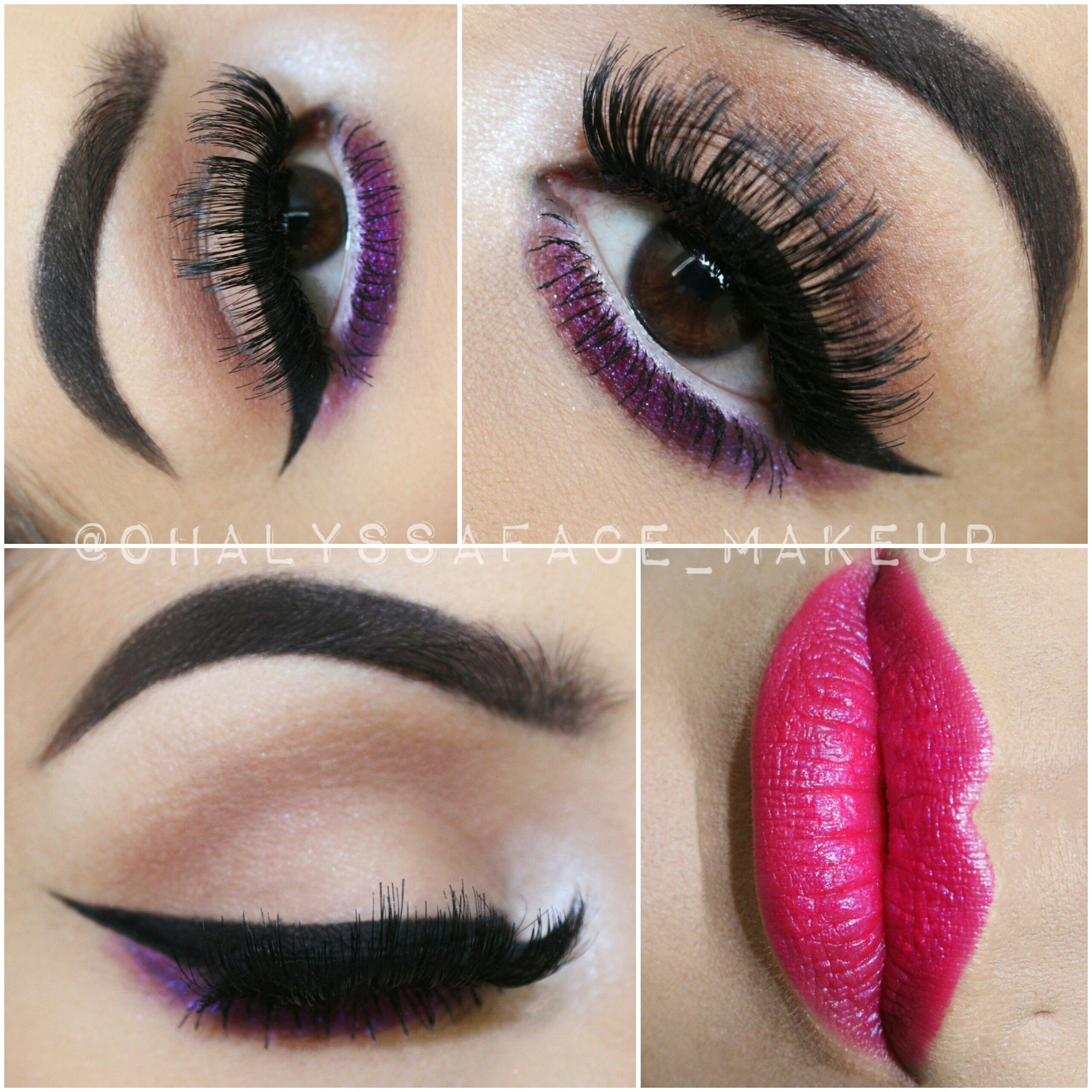 cea305f3eca Makeup Geek foiled shadows Makeup Geek Cosmetics Ardell Lashes Ardell  DoubleUps ColourPop Cosmetics Super Shock Shadows