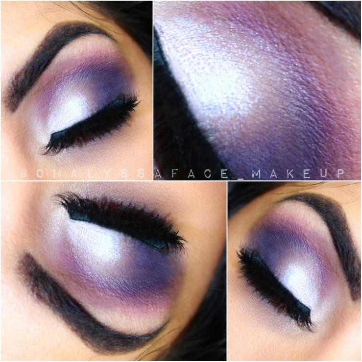 MOTD MakeupGeek Makeup Geek Purple Makeup Foiled Shadows Sephora Lip Cream Fig Ardell Lashes Ardell Brow Gel bblogger Sigma Brushes Nyx Cosmetics Purple Rain RIP Prince Makeup