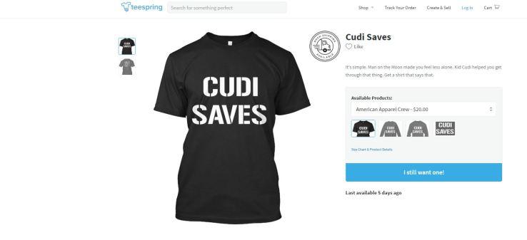 Kid Cudi Cudi Saves #CudiSaves Michelle Hux Lauren Chanel