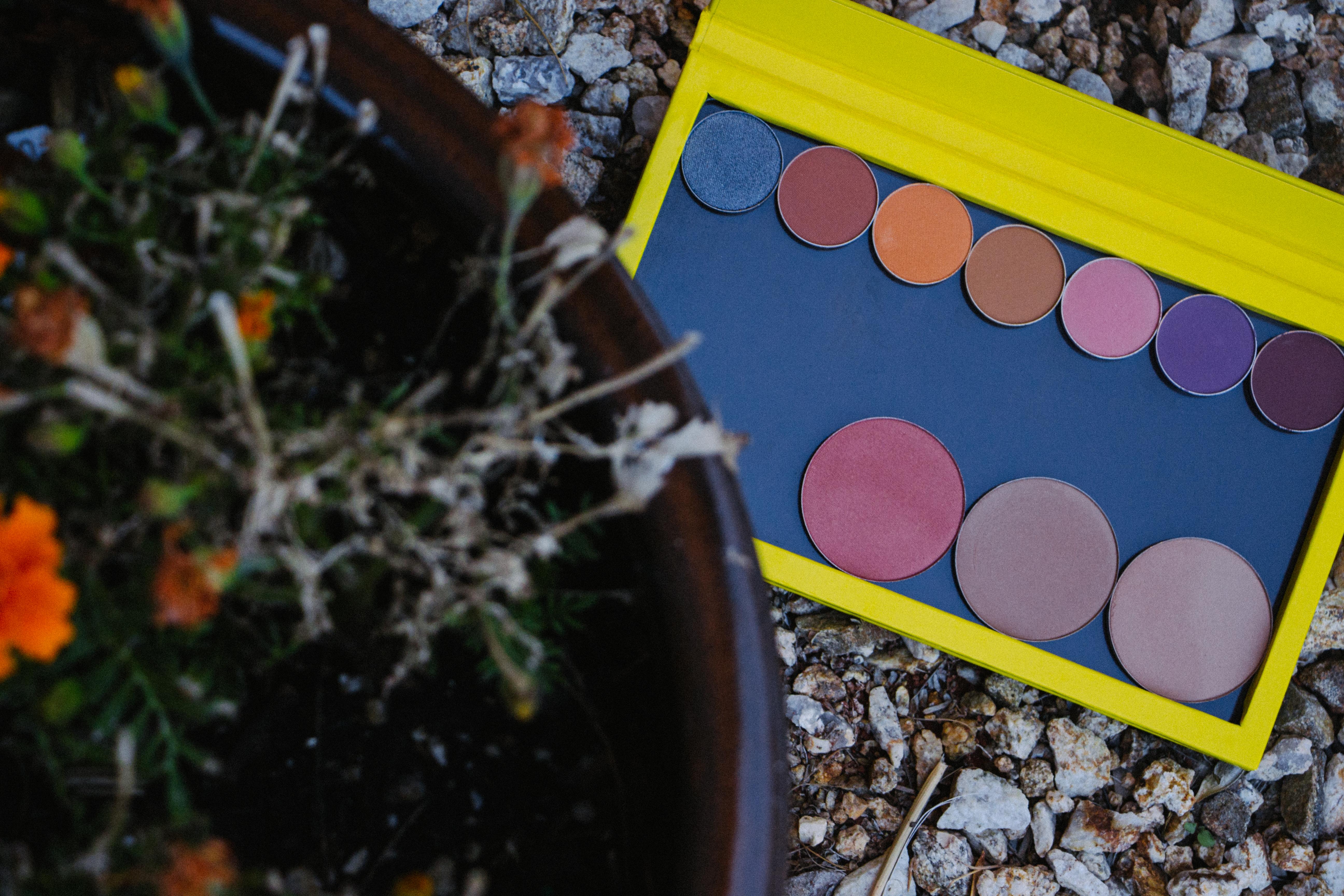 New Makeup Makeup Geek Blushes Makeup Geek shadows Makeup Geek foiled shadow zPalette Yellow zPalette plants makeup photography phoenix mua