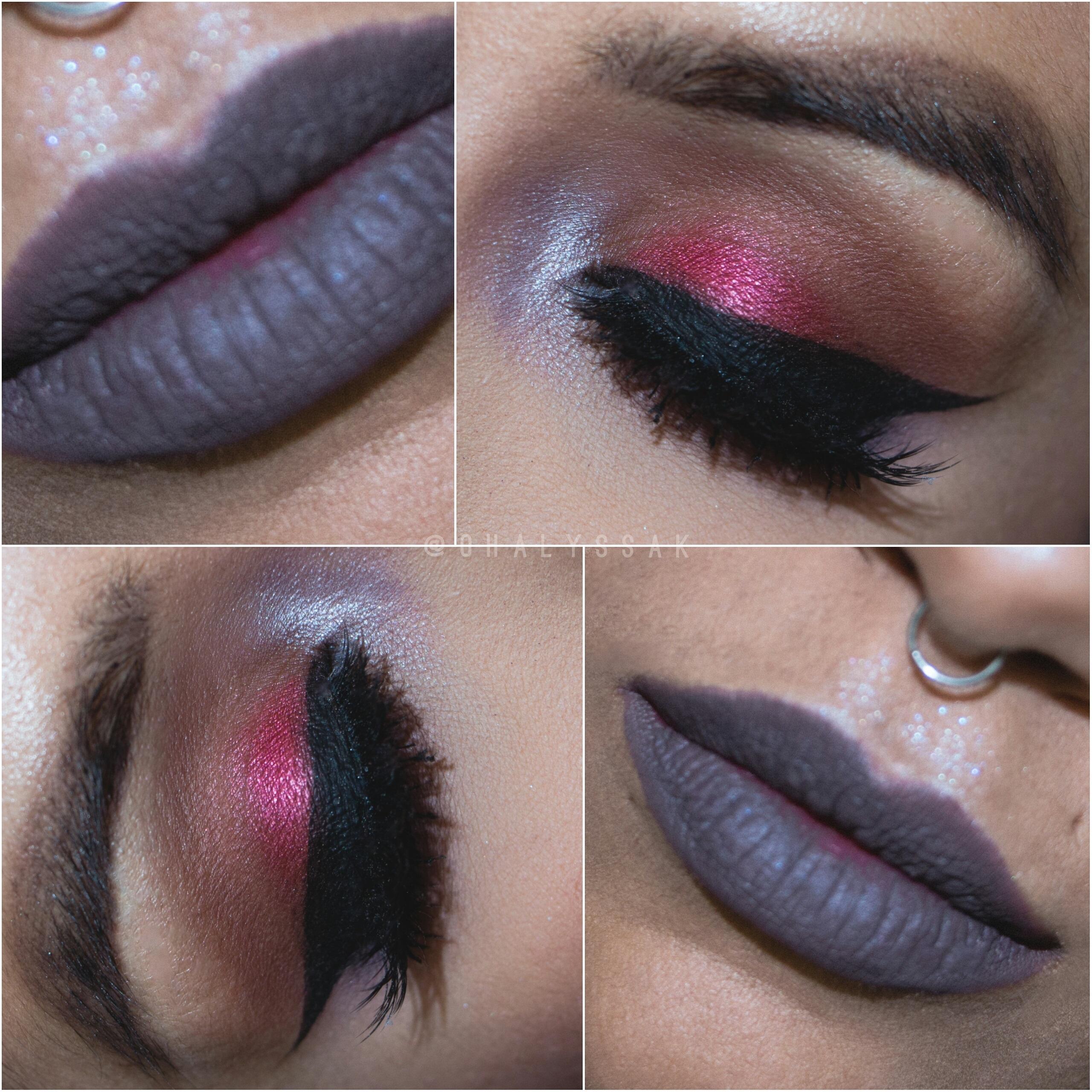 3bd4f24c607 Makeup Geek Plush Matte Lip MOTD Phoenix MUA ColourPop Glitter Injections  Wakeup and Makeup Morphe Brushes ...