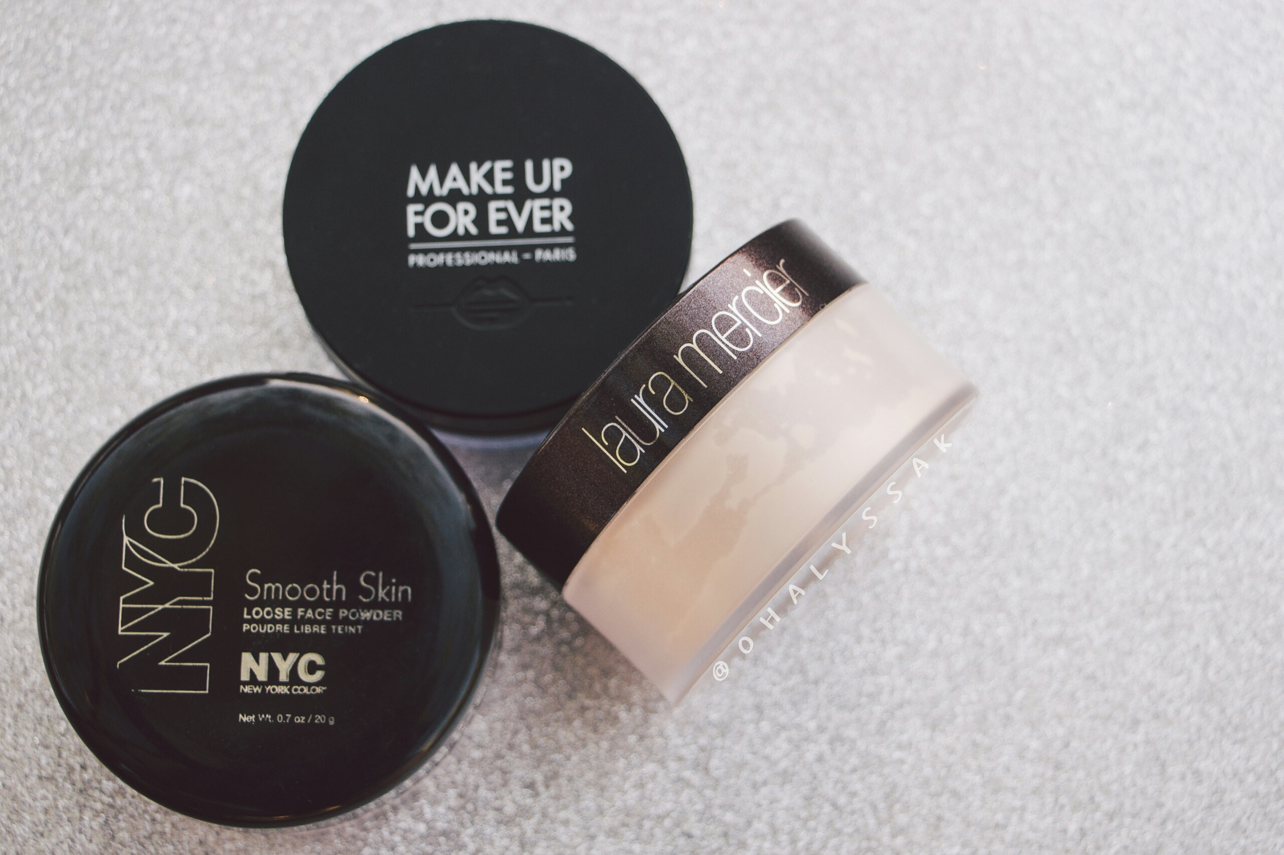 MOTD setting powder MUFE Makeup Forever Ultra HD Microfinishing Loose Powder Laura Mercier NYC Smooth Skin Loose Face Powder dupe that affordable makeup makeup favorites bblogger
