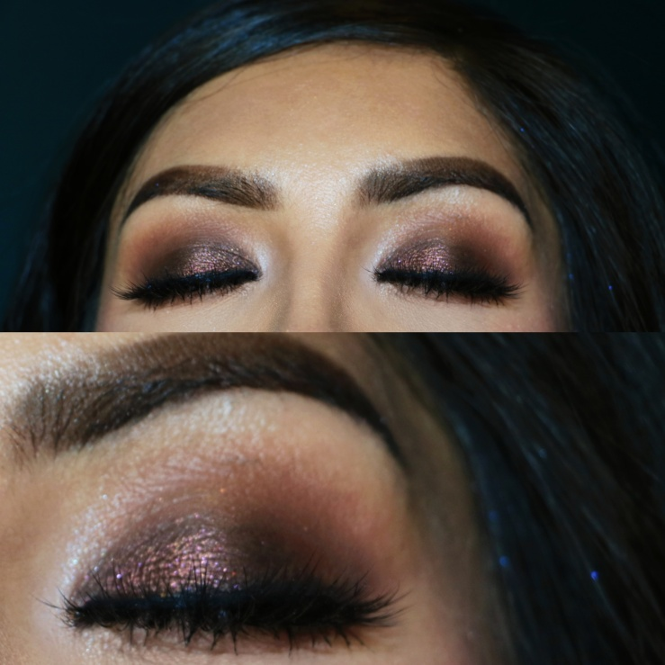 MOTD Makeup Geek ColourPop Urban Decay Hi-Fi Shine Gloss ABH Soft Glam Palette abhXamrezy Amrezy Highlight Sephora Sacramento Makeup Artist Brown Smokey Eyes